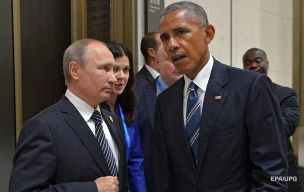 Путин рассказал о встрече с Обамой