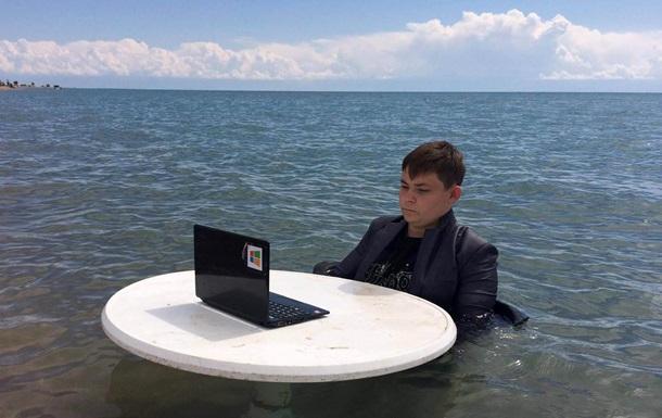 Российский школьник повторил свой  болотный мем