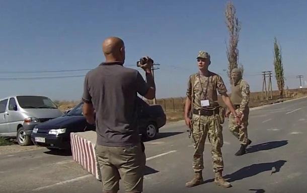 Госпогранслужба: Грэм Филлипс устроил провокацию на границе с Крымом
