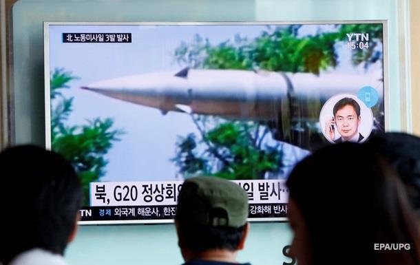 ВЕС призвали КНДР закончить ракетные запуски баллистических ракет