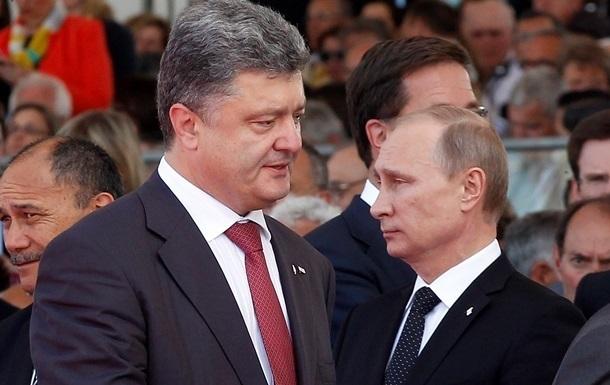 Путин не планировал встречи с Порошенко