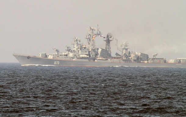 Погранслужба: Россия применила бомбардировщик и корабли