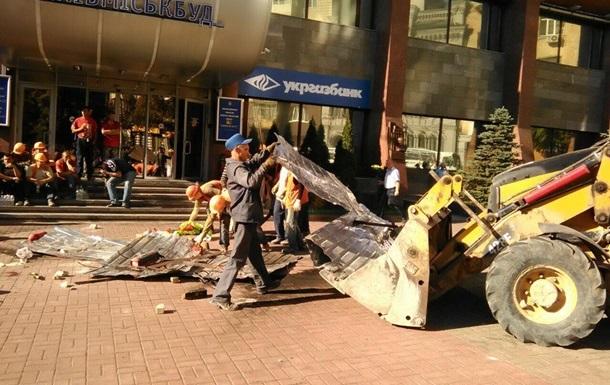 Киевгорстрой останавливает все свои стройки