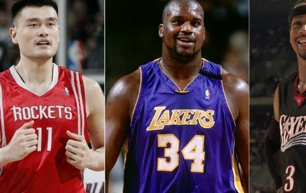 НБА. О Нил, Айверсон и Яо Мин введены в Зал славы НБА