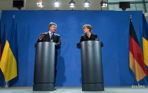 Порошенко рассказал Меркель онаглых выходках российских боевиков наДонбассе