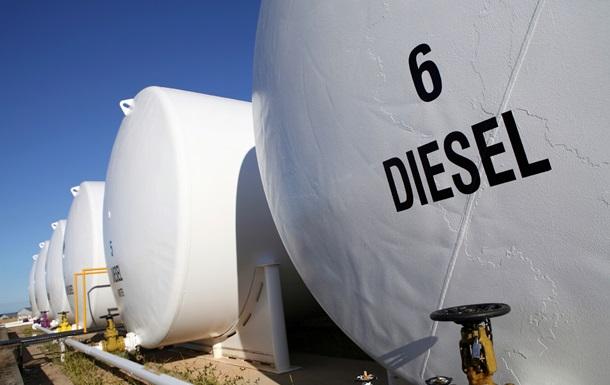 Россия прекратила поставки дизтоплива в Украину