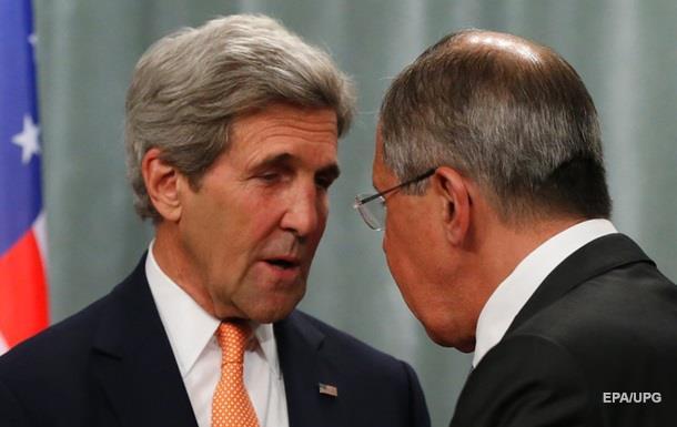 Больше 13 часов длятся переговоры Лаврова и Керри