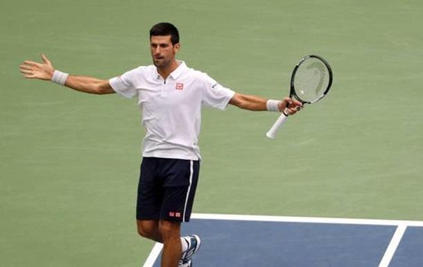 US Open. Джокович в тяжелой борьбе вырвал у Монфиса путевку в финал