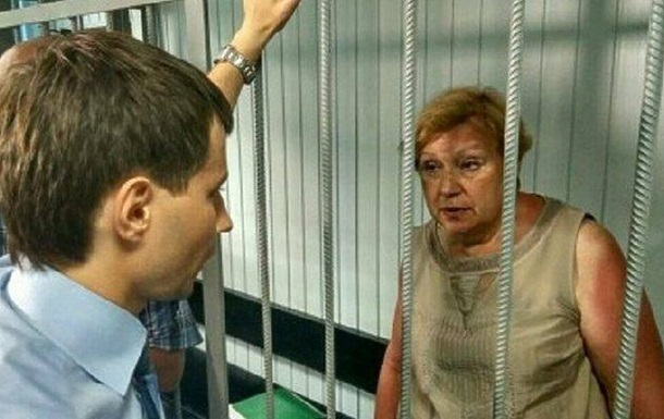 Коммунистку Александровскую оставили под стражей