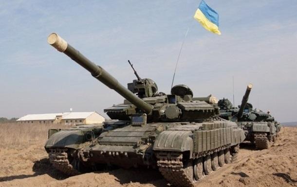 Муженко поздравил украинских танкистов