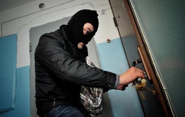 Число квартирных краж в Киеве выросло на треть