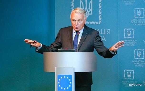 Глава МИД Франции выступил за спецстатус Донбасса