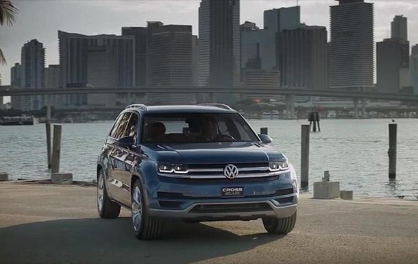 Volkswagen показал свой новый кроссовер