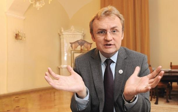 Садовый: Во Львове не хватит земли для участников АТО