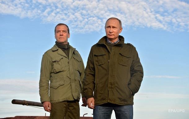 Киев возмущен визитом Путина и Медведева в Крым