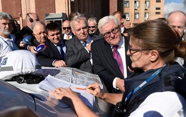Штайнмаєр: Необхідно шукати можливості зменшення напруженості на Донбасі