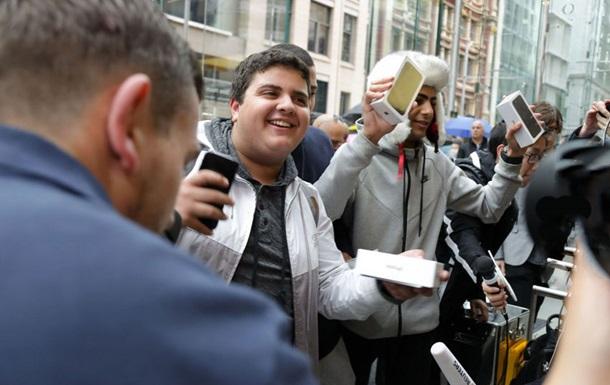 Продажи iPhone 7 официально стартовали