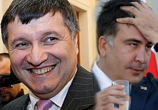 Ответный ход. Аваков хочет лишить Саакашвили украинского гражданства.