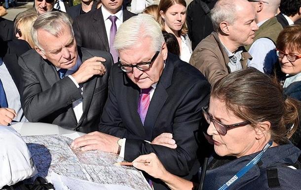 Штайнмайер и Эро привезли домашнее задание для Украины