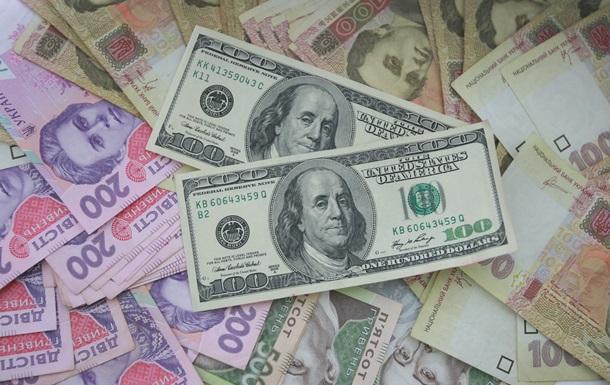 Внешний валовый долг Украины сократился до $115 млрд