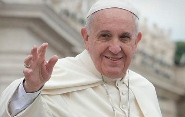 Папа Римский собрал для Украины восемь миллионов евро