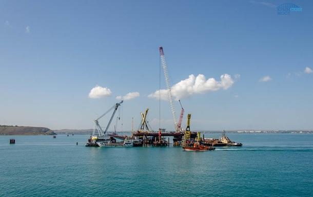Из-за строительства Керченского моста гибнут дельфины - МИД
