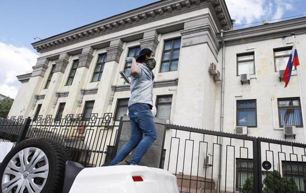 Полиция не будет охранять выборы в посольстве РФ