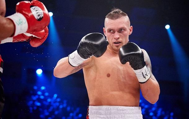 Усик стал чемпионом мира по боксу по версии WBO