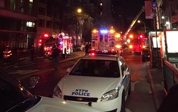 Мощный взрыв прогремел в Нью-Йорке