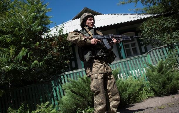За сутки силы АТО 6 раз обстреляли на Донбассе