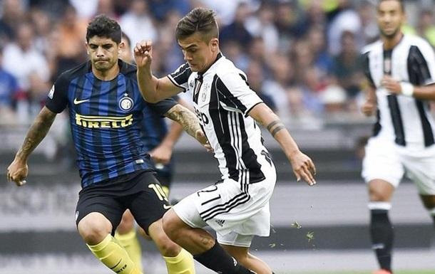 Серия А. Интер одержал волевую победу над Ювентусом