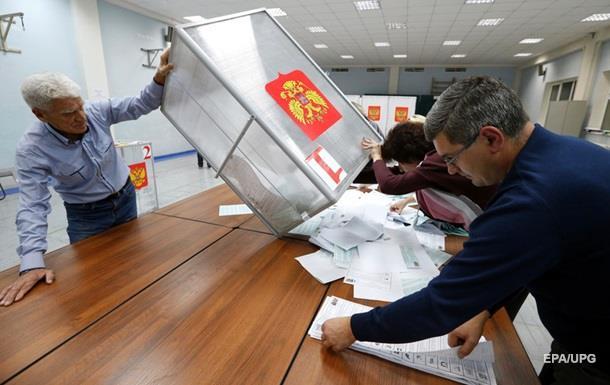 Выборы в РФ: данные экзит-поллов