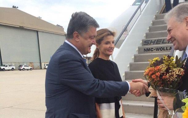 Порошенко прибыл в США для участия в Генассамблее ООН