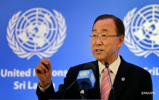 Пан Ги Мун призвал к полному выполнению  Минска