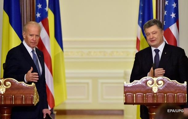 Порошенко и Байден говорили о Донбассе и кредите