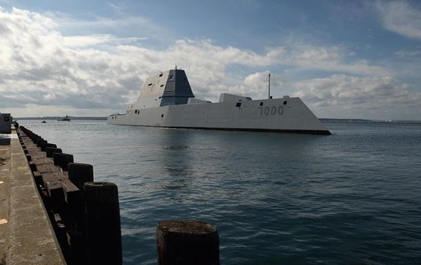 На новейшем эсминце США нашли поломку до испытаний