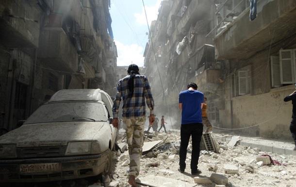 Повстанцы заявили о сильнейшие удары по Алеппо