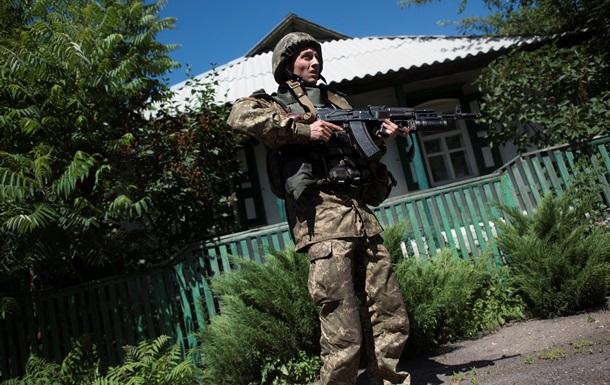 За сутки силы АТО обстреляли пять раз