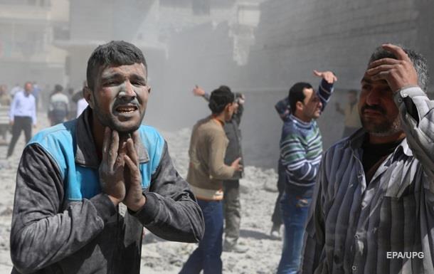 Алеппо под массированным авиаударом вторые сутки