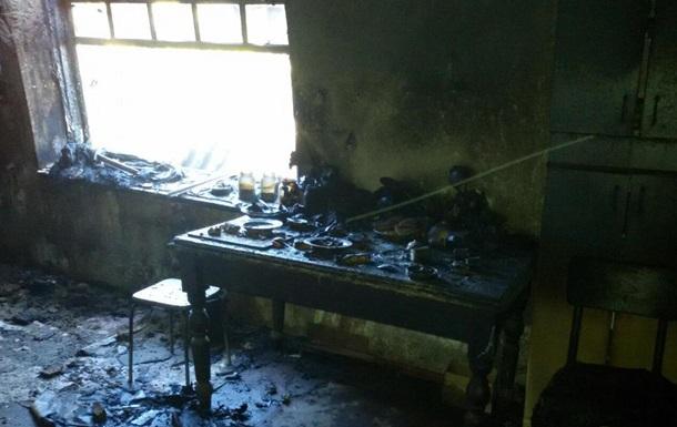 При пожаре в Кировоградской области погибли три человека