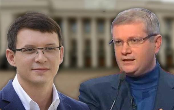 Жму руку двум мужикам на Украине: Вилкулу и Мураеву.