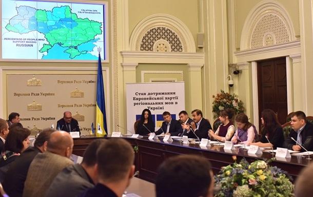 В Раде призвали защищать русский язык в Украине