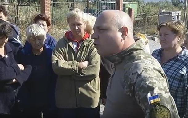 В зоне АТО выступили против минирования берега