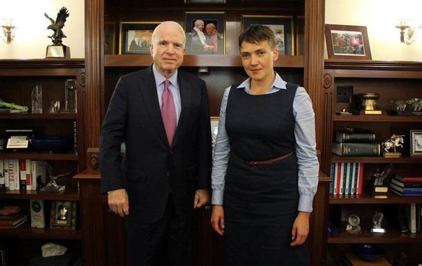Савченко в США пожаловалась на Порошенко