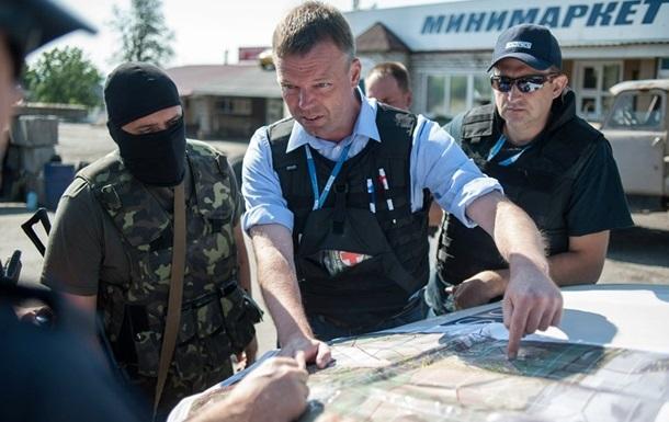 Замглавы СММ ОБСЕ прибыл в Донецк