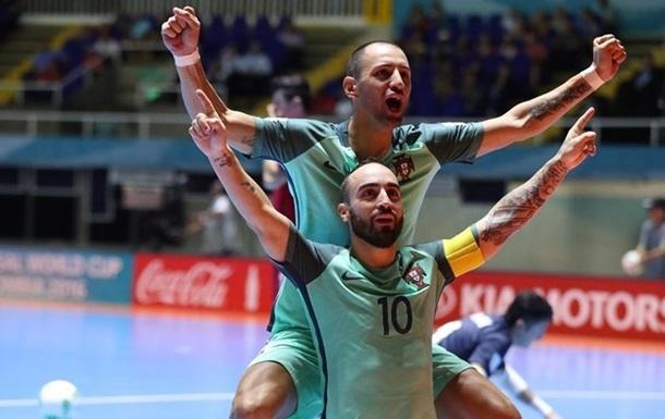 Португалия одолела Азербайджан ивышла вполуфиналЧМ помини-футболу