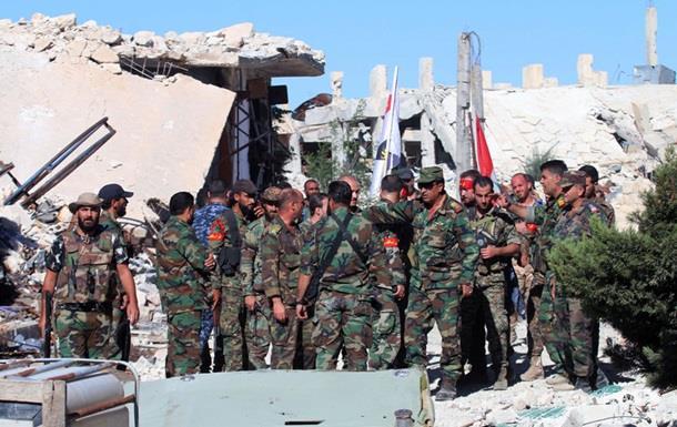 В Сирии повстанцы частично отбили лагерь беженцев