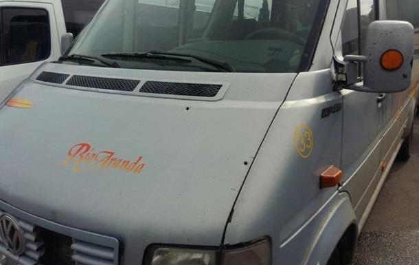 Боец Торнадо  стрелял по маршрутке – полиция
