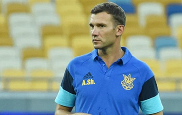 Шевченко: Ротации в составе сборной не избежать