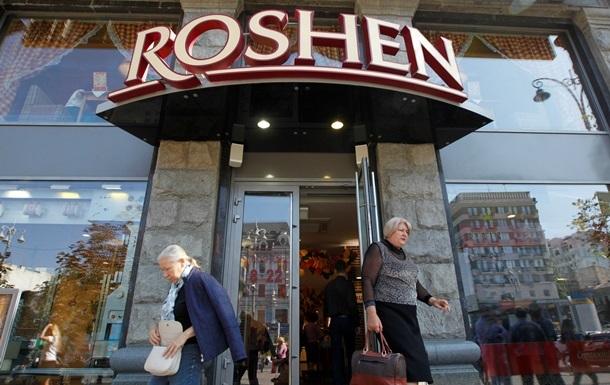 Все киевские магазины Roshen  заминировали  по почте